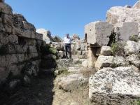 Selinunte tempel G cella