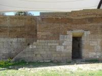 Gela stadsmuur detail