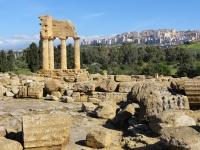 Agrigento tempel Pollux en Castor